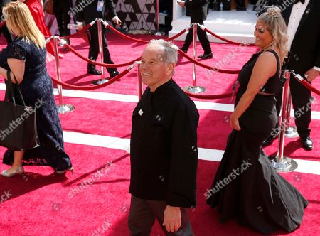 Wolfgang Puck arrives at the Oscars, at the Dolby Theatre in Los Angeles