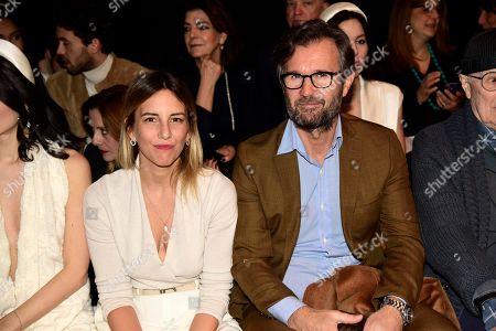 Stock Picture of Carlo Cracco and Rosa Fanti