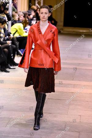 Editorial photo of Cristiano Burani show, Runway, Fall Winter 2019, Milan Fashion Week, Italy - 24 Feb 2019