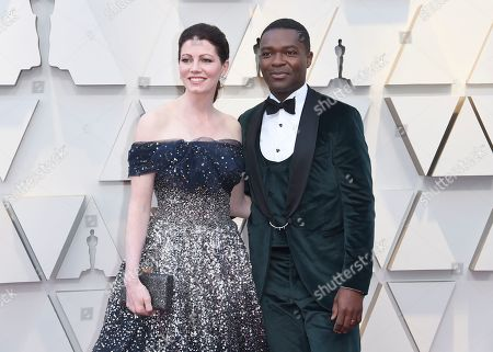 David Oyelowo, Jessica Oyelowo. Jessica Oyelowo, left, and David Oyelowo arrive at the Oscars, at the Dolby Theatre in Los Angeles