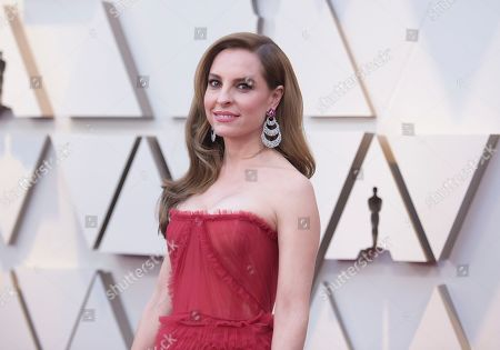 Marina de Tavira arrives at the Oscars, at the Dolby Theatre in Los Angeles