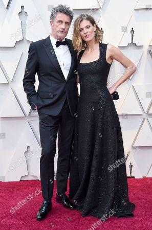 Pawel Pawlikowski, Malgosia Bela. Pawel Pawlikowski and Malgosia Bela arrive at the Oscars, at the Dolby Theatre in Los Angeles