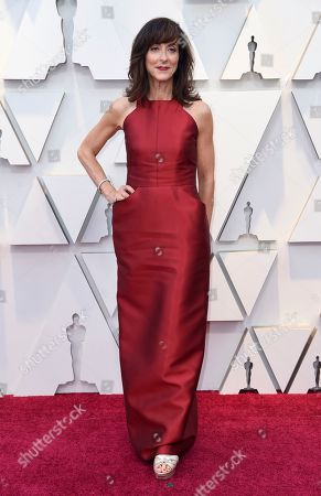 Mary Zophres arrives at the Oscars, at the Dolby Theatre in Los Angeles