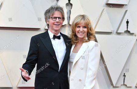 Dana Carvey, Paula Zwagerman. Dana Carvey, left, and Paula Zwagerman arrives at the Oscars, at the Dolby Theatre in Los Angeles
