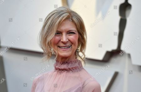 Dawn Hudson arrives at the Oscars, at the Dolby Theatre in Los Angeles