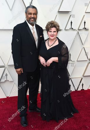Kevin Willmott, Becky Willmott. Kevin Willmott, left, and Becky Willmott arrive at the Oscars, at the Dolby Theatre in Los Angeles
