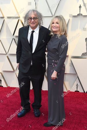 Hank Corwin, Nancy Corwin. Hank Corwin, left, and Nancy Corwin arrive at the Oscars, at the Dolby Theatre in Los Angeles