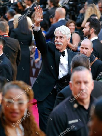 Sam Elliott arrives at the Oscars, at the Dolby Theatre in Los Angeles