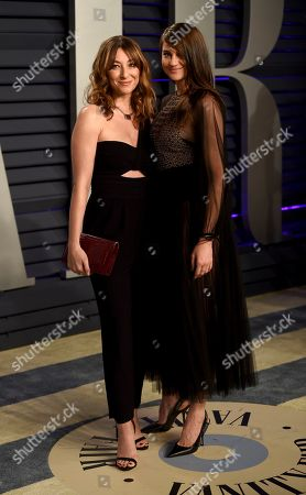 Isidora Goreshter, Shailene Woodley. Isidora Goreshter, left, and Shailene Woodley arrive at the Vanity Fair Oscar Party, in Beverly Hills, Calif