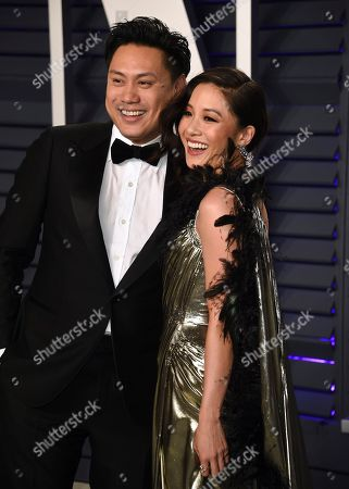 Jon M. Chu, Constance Wu. Jon M. Chu, left, and Constance Wu arrive at the Vanity Fair Oscar Party, in Beverly Hills, Calif