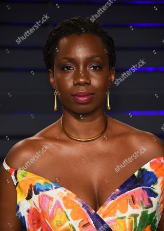 Stock Photo of Adepero Oduye arrives at the Vanity Fair Oscar Party, in Beverly Hills, Calif