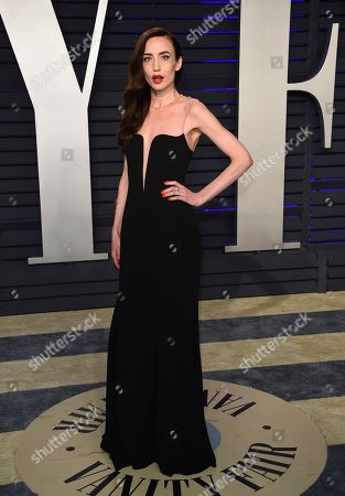 Elizabeth Jagger arrives at the Vanity Fair Oscar Party, in Beverly Hills, Calif