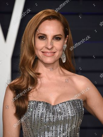 Marina de Tavira arrives at the Vanity Fair Oscar Party, in Beverly Hills, Calif