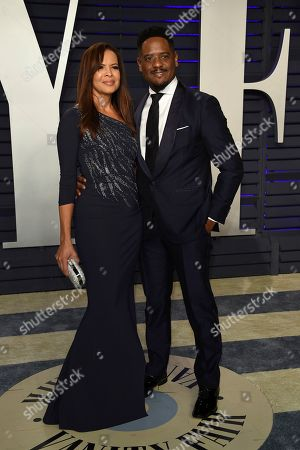 Desiree DaCosta, Blair Underwood. Desiree DaCosta, left, and Blair Underwood arrive at the Vanity Fair Oscar Party, in Beverly Hills, Calif