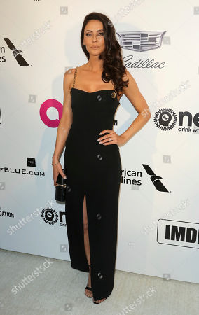 Stock Photo of Summer Altice arrives at the 2019 Elton John AIDS Foundation Oscar Viewing Party, in West Hollywood, Calif