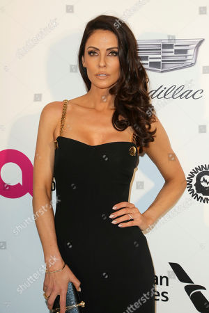 Stock Image of Summer Altice arrives at the 2019 Elton John AIDS Foundation Oscar Viewing Party, in West Hollywood, Calif