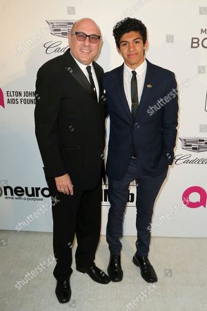 Willie Garson, Nathen Garson. Willie Garson, left, and Nathen Garson arrive at the 2019 Elton John AIDS Foundation Oscar Viewing Party, in West Hollywood, Calif