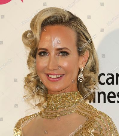 Lady Victoria Hervey arrives at the 2019 Elton John AIDS Foundation Oscar Viewing Party, in West Hollywood, Calif