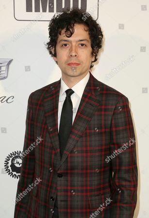Geoffrey Arend arrives at the 2019 Elton John AIDS Foundation Oscar Viewing Party, in West Hollywood, Calif