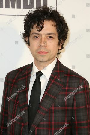 Stock Photo of Geoffrey Arend arrives at the 2019 Elton John AIDS Foundation Oscar Viewing Party, in West Hollywood, Calif