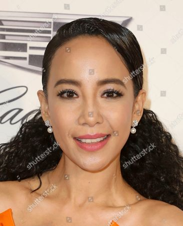Stock Photo of Fiona Xie arrives at the 2019 Elton John AIDS Foundation Oscar Viewing Party, in West Hollywood, Calif