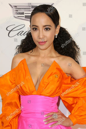 Stock Picture of Fiona Xie arrives at the 2019 Elton John AIDS Foundation Oscar Viewing Party, in West Hollywood, Calif