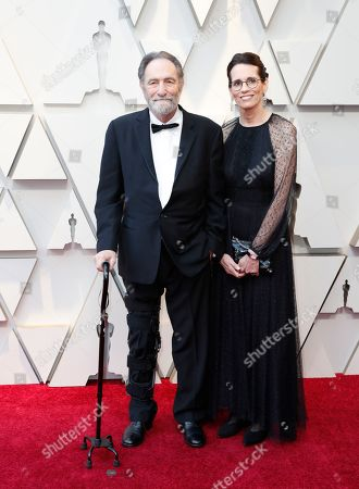 Best Adapted Screenplay nominee for 'A Star Is Born' Eric Roth and guest arrive arrives for the 91st annual Academy Awards ceremony at the Dolby Theatre in Hollywood, California, USA, 24 February 2019. The Oscars are presented for outstanding individual or collective efforts in 24 categories in filmmaking.