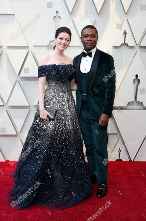 Jessica Oyelowo and David Oyelowo arrive for the 91st annual Academy Awards ceremony at the Dolby Theatre in Hollywood, California, USA, 24 February 2019. The Oscars are presented for outstanding individual or collective efforts in 24 categories in filmmaking.