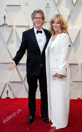 Dana Carvey and Paula Zwagerman arrive for the 91st annual Academy Awards ceremony at the Dolby Theatre in Hollywood, California, USA, 24 February 2019. The Oscars are presented for outstanding individual or collective efforts in 24 categories in filmmaking.