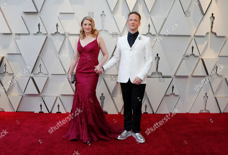 Jeff Whitty (R) and guest arrive for the 91st annual Academy Awards ceremony at the Dolby Theatre in Hollywood, California, USA, 24 February 2019. The Oscars are presented for outstanding individual or collective efforts in 24 categories in filmmaking.