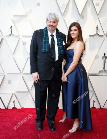 Ian Hunter and guest arrive for the 91st annual Academy Awards ceremony at the Dolby Theatre in Hollywood, California, USA, 24 February 2019. The Oscars are presented for outstanding individual or collective efforts in 24 categories in filmmaking.