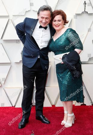 Bernard Hiller (L) and Liza Raff (R) arrive for the 91st annual Academy Awards ceremony at the Dolby Theatre in Hollywood, California, USA, 24 February 2019. The Oscars are presented for outstanding individual or collective efforts in 24 categories in filmmaking.