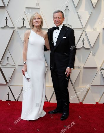 Walt Disney Company CEO Robert Iger and wife journalist Willow Bay arrive for the 91st annual Academy Awards ceremony at the Dolby Theatre in Hollywood, California, USA, 24 February 2019. The Oscars are presented for outstanding individual or collective efforts in 24 categories in filmmaking.