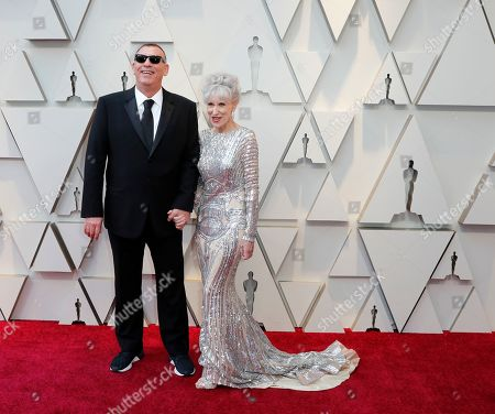 Graham King and guest arrive for the 91st annual Academy Awards ceremony at the Dolby Theatre in Hollywood, California, USA, 24 February 2019. The Oscars are presented for outstanding individual or collective efforts in 24 categories in filmmaking.