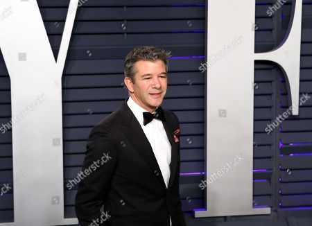 Travis Kalanick poses at the 2019 Vanity Fair Oscar Party following the 91st annual Academy Awards ceremony, in Beverly Hills, California, USA, 24 February 2019. The Oscars are presented for outstanding individual or collective efforts in 24 categories in filmmaking. The Oscars are presented for outstanding individual or collective efforts in 24 categories in filmmaking.