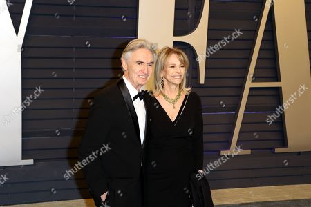 David Steinberg (L) and Robyn Todd (R) pose at the 2019 Vanity Fair Oscar Party following the 91st annual Academy Awards ceremony, in Beverly Hills, California, USA, 24 February 2019. The Oscars are presented for outstanding individual or collective efforts in 24 categories in filmmaking. The Oscars are presented for outstanding individual or collective efforts in 24 categories in filmmaking.