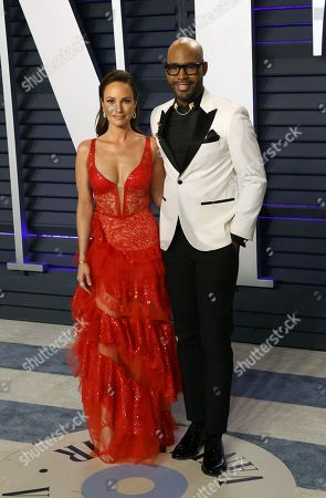 Catt Sadler and Karamo Brown pose at the 2019 Vanity Fair Oscar Party following the 91st annual Academy Awards ceremony, in Beverly Hills, California, USA, 24 February 2019. The Oscars are presented for outstanding individual or collective efforts in 24 categories in filmmaking. The Oscars are presented for outstanding individual or collective efforts in 24 categories in filmmaking.