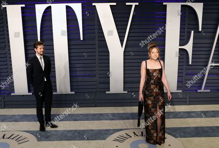 Kayli Carter (R) poses at the 2019 Vanity Fair Oscar Party following the 91st annual Academy Awards ceremony, in Beverly Hills, California, USA, 24 February 2019. The Oscars are presented for outstanding individual or collective efforts in 24 categories in filmmaking. The Oscars are presented for outstanding individual or collective efforts in 24 categories in filmmaking.