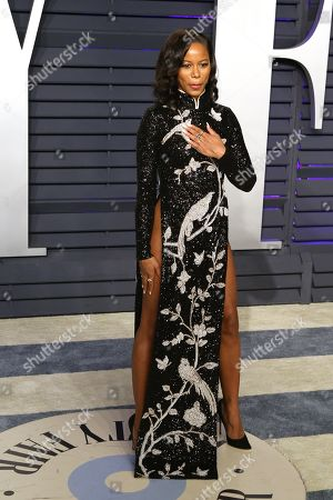Taylour Paige attends at the 2019 Vanity Fair Oscar Party following the 91st annual Academy Awards ceremony, in Beverly Hills, California, USA, 24 February 2019. The Oscars are presented for outstanding individual or collective efforts in 24 categories in filmmaking.