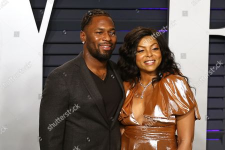 William Lamar Johnson (L) and Taraji P. Henson attend at the 2019 Vanity Fair Oscar Party following the 91st annual Academy Awards ceremony, in Beverly Hills, California, USA, 24 February 2019. The Oscars are presented for outstanding individual or collective efforts in 24 categories in filmmaking.