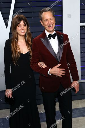 Olivia Grant (L) and Richard E. Grant attend at the 2019 Vanity Fair Oscar Party following the 91st annual Academy Awards ceremony, in Beverly Hills, California, USA, 24 February 2019. The Oscars are presented for outstanding individual or collective efforts in 24 categories in filmmaking.