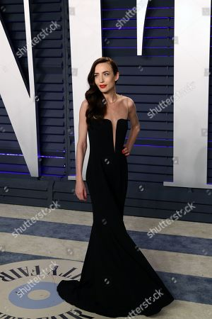 Elizabeth Jagger poses at the 2019 Vanity Fair Oscar Party following the 91st annual Academy Awards ceremony, in Beverly Hills, California, USA, 24 February 2019. The Oscars are presented for outstanding individual or collective efforts in 24 categories in filmmaking. The Oscars are presented for outstanding individual or collective efforts in 24 categories in filmmaking.