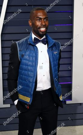 DeRay Mckesson poses at the 2019 Vanity Fair Oscar Party following the 91st annual Academy Awards ceremony, in Beverly Hills, California, USA, 24 February 2019. The Oscars are presented for outstanding individual or collective efforts in 24 categories in filmmaking. The Oscars are presented for outstanding individual or collective efforts in 24 categories in filmmaking.