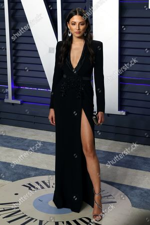 Jessica Gomes poses at the 2019 Vanity Fair Oscar Party following the 91st annual Academy Awards ceremony, in Beverly Hills, California, USA, 24 February 2019. The Oscars are presented for outstanding individual or collective efforts in 24 categories in filmmaking. The Oscars are presented for outstanding individual or collective efforts in 24 categories in filmmaking.