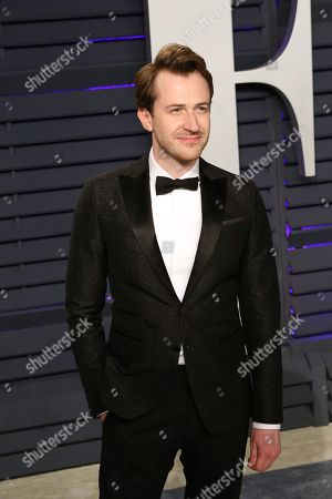 Joseph Mazzello attends the 2019 Vanity Fair Oscar Party following the 91st annual Academy Awards ceremony, in Beverly Hills, California, USA, 24 February 2019. The Oscars are presented for outstanding individual or collective efforts in 24 categories in filmmaking.