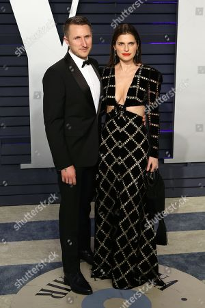 Scott Campbell (L) and Lake Bell attend the 2019 Vanity Fair Oscar Party following the 91st annual Academy Awards ceremony, in Beverly Hills, California, USA, 24 February 2019. The Oscars are presented for outstanding individual or collective efforts in 24 categories in filmmaking.