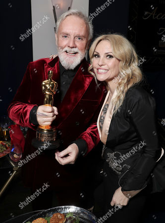 Stock Image of Roger Taylor and Sarina Potgieter