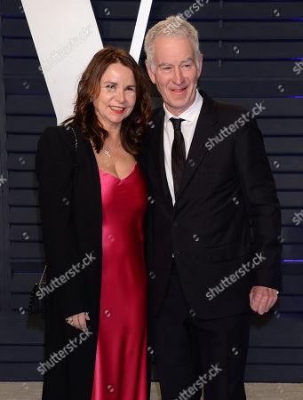 John McEnroe, Patty Smyth
