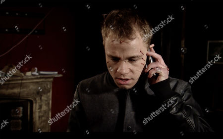 Ep 9705 & 9706 Friday 1st March 2019 A police negotiator calls Clayton Hibbs', as played by Callum Harrison, phone and he tells them he has taken Shona Ramsey hostage.