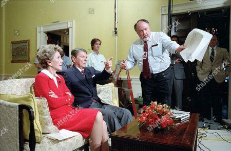 Nancy Reagan, Ronald Reagan, Elizabeth Board and Roger Ailes